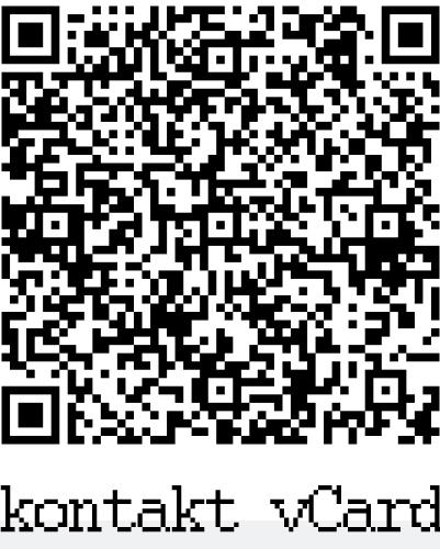 QR Code - kontakty do vašeho telefonu - vCard